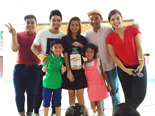 """Ningning"" shows the love for typhoon Lando victims"